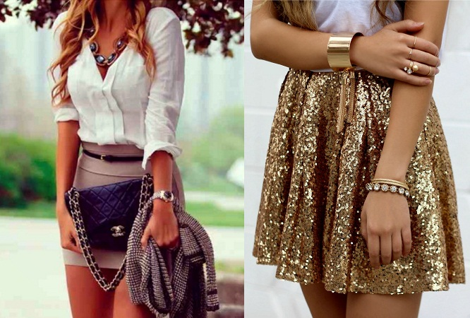 Accessories To Wear On Short Skirts
