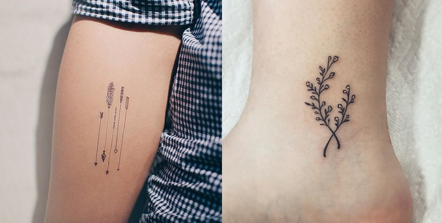 Thin Lined Tattoo